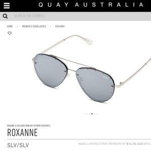fa865c52fda04 Quay Australia Accessories - Quay Australia x Jaclyn Hill Roxanne Sunglasses